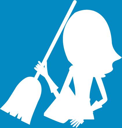 Layout de site para terceirização de serviços limpeza e portaria